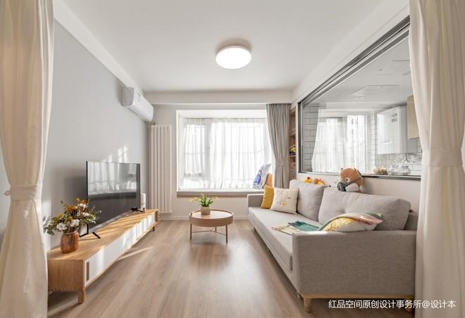 55平-客廳圖片