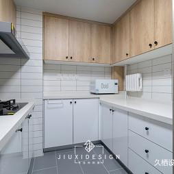 厨房图片-140平现代简约风格