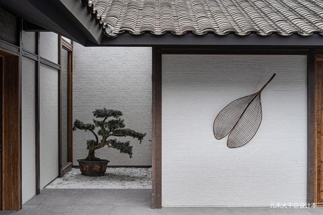 度假风+新中式——入户图片