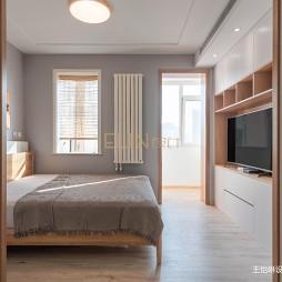 日式原木住宅-卧室图片