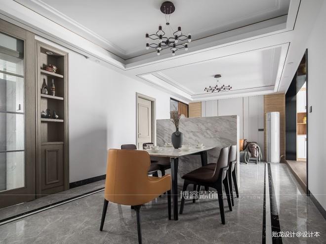 113平现代简约-餐厅图片