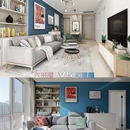 温馨法式-客厅图片