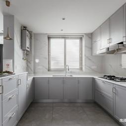135平美式经典-厨房图片