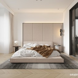 160平北欧极简-卧室图片