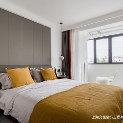 90平北欧极简-卧室图片
