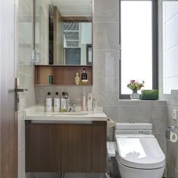 卫生间图片-90平美式轻奢