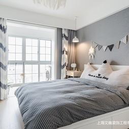 72平-北欧极简卧室图片