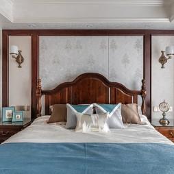 141㎡美式风-卧室图片