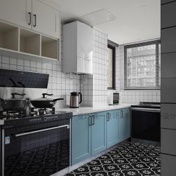 70平北欧极简-厨房图片