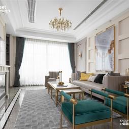 370平别墅-客厅图片