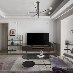 114平三居-客厅图片