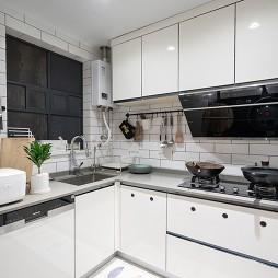 103平-极简-厨房图片