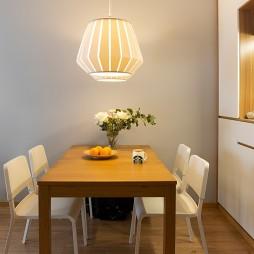 51平小户型北欧极简-餐厅图片