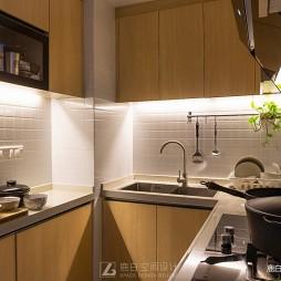 51平小户型北欧极简-厨房图片