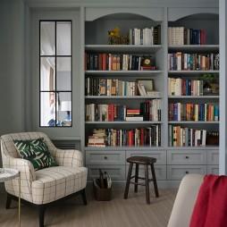 187平美式经典书房图片