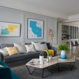187平-美式经典-客厅图片