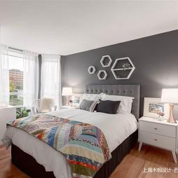 78㎡「现代温馨-卧室图片