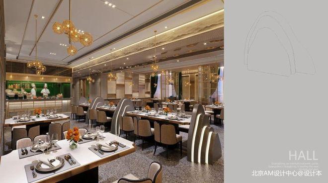 AM设计 | 金磐酒店蜀餐厅_405