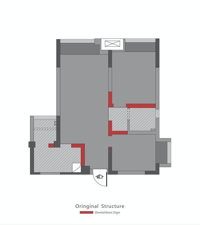 小空间也有大视野-一个58平温暖现代