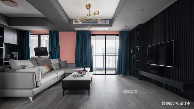 现代简约住宅,精致优雅的家|博睿设计