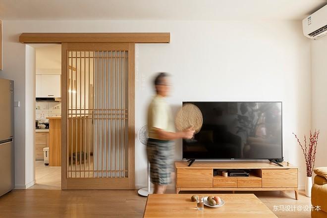 旧房大改造,原木日式风与生活空间的对