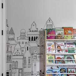 儿童房墙面设计