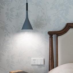 卧室长吊灯图片