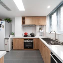 l型厨房装修图