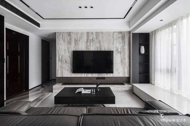新房装修客厅电视背景