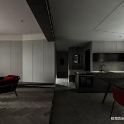 客厅厨房装修图片