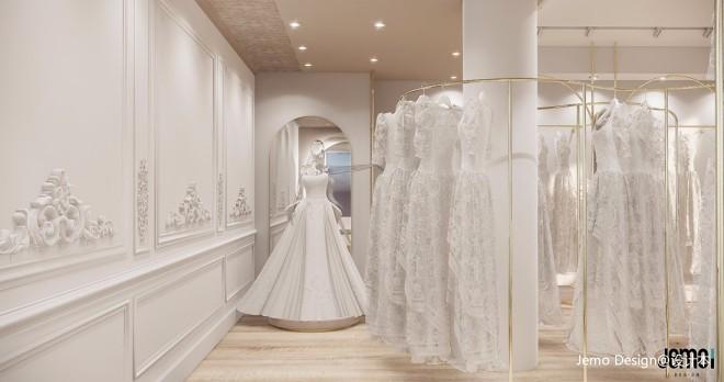 珑御高级婚纱店设计,打造专属爱情空间
