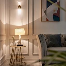 欧式客厅壁灯效果图