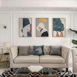 现代简约客厅挂画