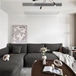 l型沙发客厅效果图