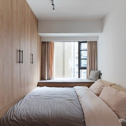 小户型卧室榻榻米效果图