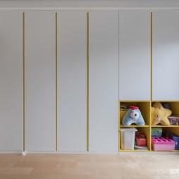 儿童房玩具收纳区设计