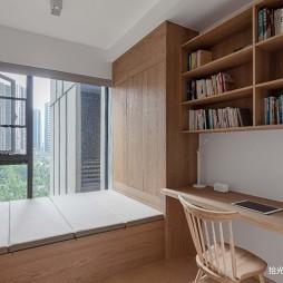 小书房榻榻米床装修效果图