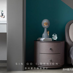 卧室简欧床头柜设计