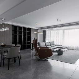 开放式客厅效果图