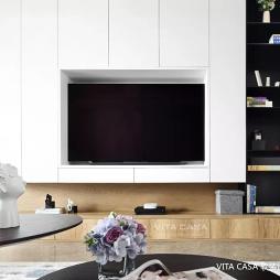 pu电视背景墙
