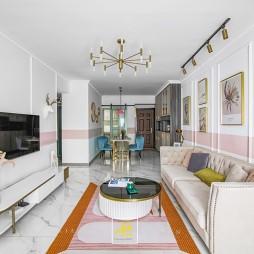 小客厅茶几地毯