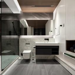 卫生间玻璃隔断图