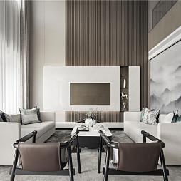 欧式客厅沙发摆放效果图
