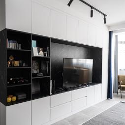 电视背景墙储物柜