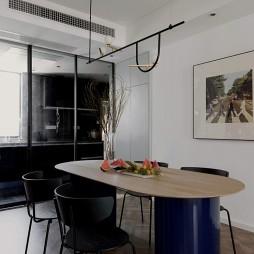 现代简约餐厅圆桌