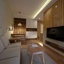 小型客厅电视背景墙效果图