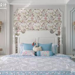 美式卧室图片