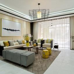 客厅地毯效果