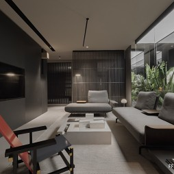 沙发区设计