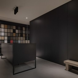 选材展示区设计